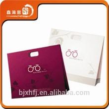 XHFJ luxury fancy 200g art paper printing paper gift bag
