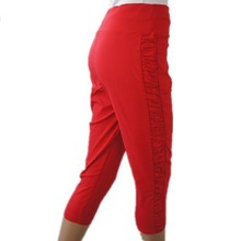 2015 summer cotton trousers designs of trousers for lady stretch trousers