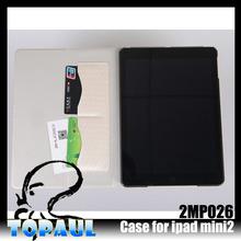 Rugged Defender case for ipad mini hiqh quality pu leather