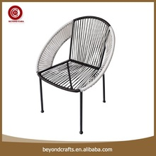 Wholesale simple modern style custom design synthetic rattan outdoor furniture