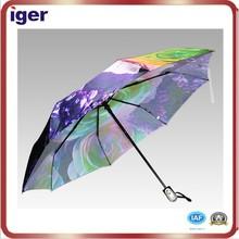 sun and rain 3 folding ladies umbrella