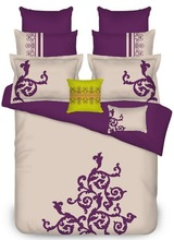 100% cotton Embroidery comforter set,new design cushion cover