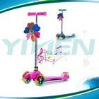 multi function micro kick scooter ,3 in 1 children scoote with basket and seat