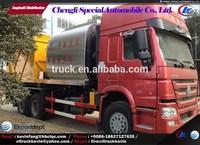 Sino 16m3 bitumen distributor truck, slurry seal paver