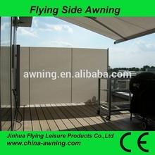 2015 one sided aluminium adjustable awning /car side awning