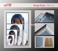 Jis4- 2,25mm ширина, a1 a2 a3 формат а4, круглый и прямой угол, пластиковые доски, пвх листа, алюминий рамка литье