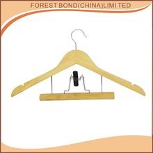 High Quality Wooden Dresser hanger Natural Hangers for pant