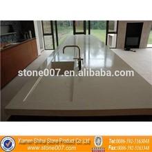 Quality Assurance Quartz Stone Kitchen Top