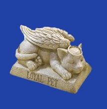 Custom Made Garden Item Resin Pet Memorial Stone