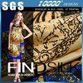 preço chocante de seda crepe georgette vestido em estoque