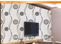 el diseño moderno de pvc papel pintado para la decoración de la casa