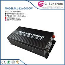 Portable Solar Power Systerm Kits modify sine wave power inverter