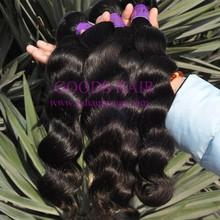Raw Unprocessed Virgin Indian Hair , Virgin Indian Deep Curly Hair