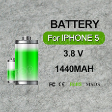 Factory price spice mobile battery gb t18287 for iphone 5 lithium battery