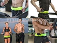 Hot Sale High Quality Sporty Travel Anti Theft Adjustable Running sports Waist belt