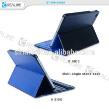 For Apple iPad mini 2 / 3 Rock Slim Flip PU Leather Smart Stand Case