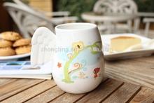 2015 Angel wings ceramic cups