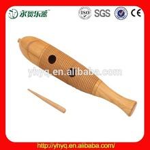 La percusión de madera orff guiro, de madera guiro g2-2 venta al por mayor