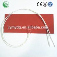 Two 25 Watt 12 Volt Silicone strip fuel line heater