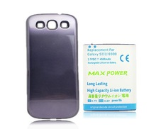 Deep Blue 4500mAh Extended Rechargeable Battery + Back Case For Samsung Galaxy S 3 III S3 i9300