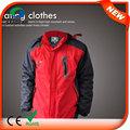Hj08 7.4v climatizada venta caliente en invierno para hombre abrigos de moda la ropa de los hombres