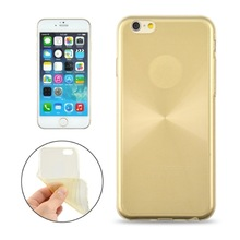 0.3mm Ultrathin CD Texture Transparent TPU Protective Case for iPhone 6