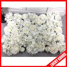 2015 wholesale stage or background white flower wedding decoration