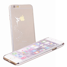 Laser Etching Technology Super slim light weight Angle Style Back Cover Case For iphone 6 4.7'' 5 color