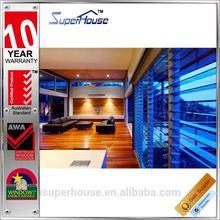 Australian standard safety aluminum louver shutter blade windows with AS2047