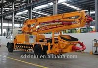 Petite pompe a beton 22m 25m 28m 37m camions pompes a beton