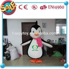 HOT!!!Happy Island CE penguin cartoon mascot,cartoon mascot penguin costumes,adult penguin mascot costume