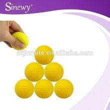 practice golf ball Sponge Elastic Indoor Outdoor Golf rubber foam golf ball