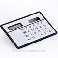 بلاستيكية صغيرة ضئيلة الترويجية 3mm بطاقة الجيب الحاسبة الطاقة الشمسية