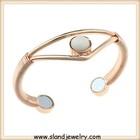 Guangzhou Sland jewlery manufacturer online wholesale super strong copper bio megnetic healing bracelet ,magnetic copper bangles