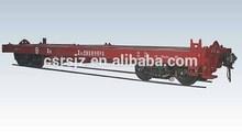 Railway Flat Wagon/ Raiway Container Flat Wagon/ Railway freight wagon