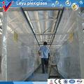 reparto virgen del acuario de acrílico túneles