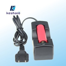 battery charger keshee 18650 single battery charger with EU/US/UK plug