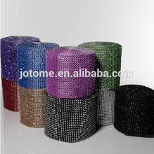 Eastland Rhinestone Diamond Wrap Green Roll Twinkling, Shiny, Reflective Ribbon Mesh. Easy to Cut and App