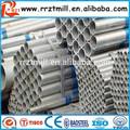 Pré tubo de aço galvanizado e programação 80 tubo galvanizado diâmetro