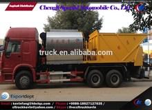 Sino 16 cbm asphalt sprayer truck, slurry seal paver