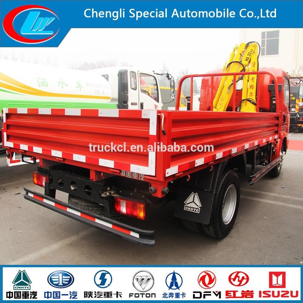 Crane Howo Truck Mounted