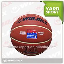 2015 Winmax match play PU basketball new design,WMY50084 winmax basketball balls wholesale price !
