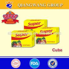 QWOK -10g/tablet x 15tablets/bag series bouillon cube halal curry vegetables,chicken ,beef ,shrimp,etc cube