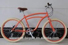 New beach cruiser bike with disc brake fat tire beach cruiser bicycle fashion cruisers