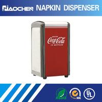 customized brand promotions napkin holder tissue box