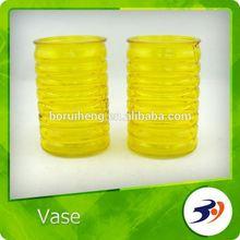 Artificial Glass Vase Flower Rose Glass Vase