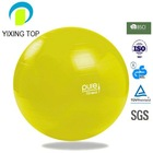 eco-friendly exercise ball pilates ball with foot pump