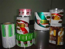 Automatic plastic packaging roll film/Laminated Plastic Food Packaging Roll Film