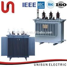 unisun 60kv 63kva class 2 amorphous metal transformator in china