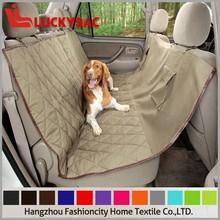 2015 new product lastest design pet pvc car seat cover